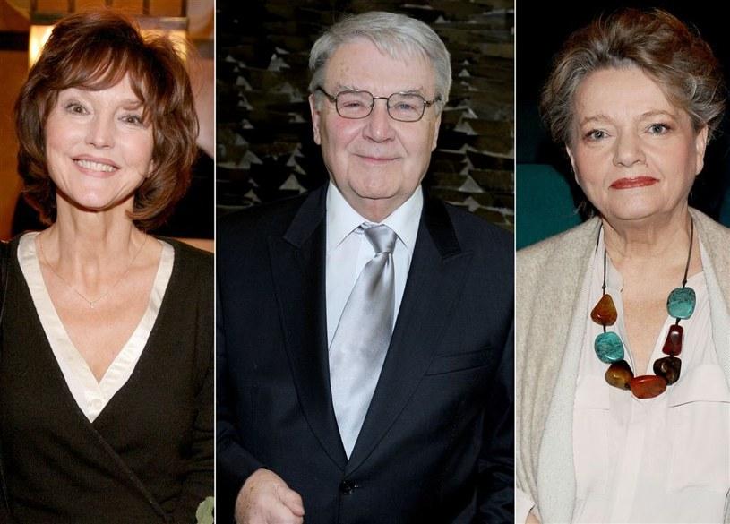 Elżbieta Starostecka, Leonard Pietraszak i Anna Seniuk /Agencja W. Impact