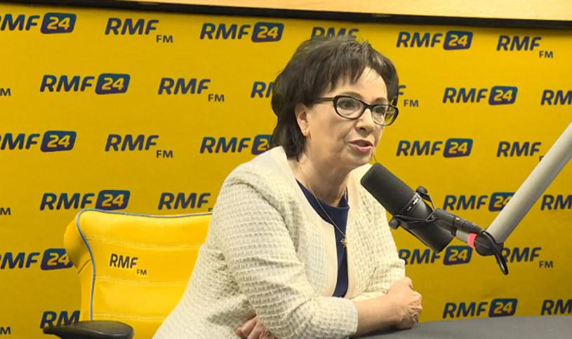 Elżbieta Witek była gościem Porannej rozmowy w RMF FM /RMF