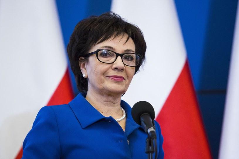 Elżbieta Witek, była szefowa gabinetu premier Beaty Szydło /Andrzej Hulimka  /East News