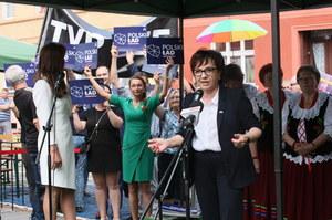 Elżbieta Witek do wyborców: Bierzecie 500 plus i narzekacie