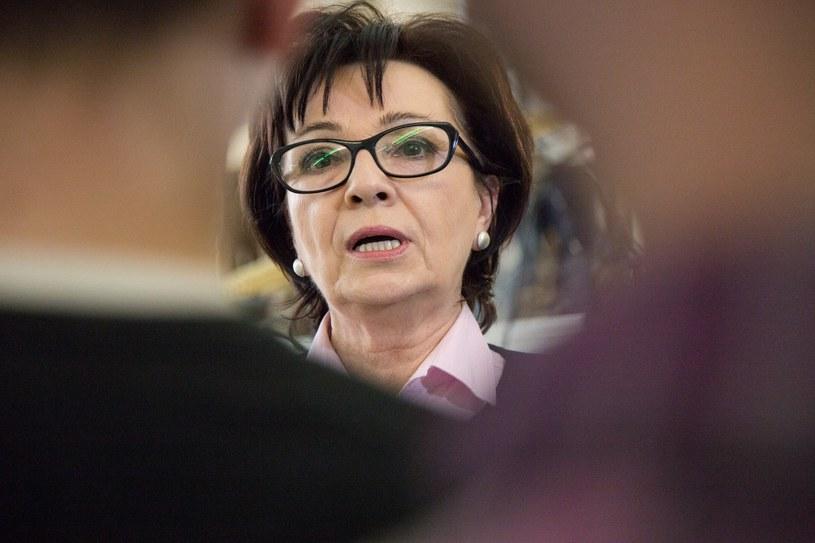 Elżbieta Witek: Mam nadzieję, że prezydent podpisze ustawy wprowadzające reformę edukacji / Maciej Łuczniewski  /Reporter