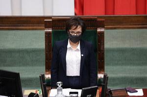 """Elżbieta Witek o reasumpcji głosowania. """"Nie złamałam regulaminu Sejmu"""""""