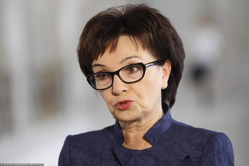 Elżbieta Witek, rzecznik Prawa i Sprawiedliwości /STEFAN MASZEWSKI/REPORTER /East News