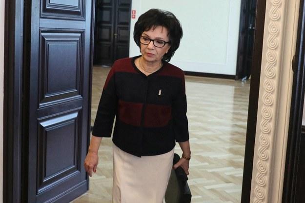 Elżbieta Witek – szefowa MSWiA – ma zostać nowym marszałkiem Sejmu. Tak wynika z nieoficjalnych ustaleń reporterów RMF FM / Tomasz Gzell    /PAP