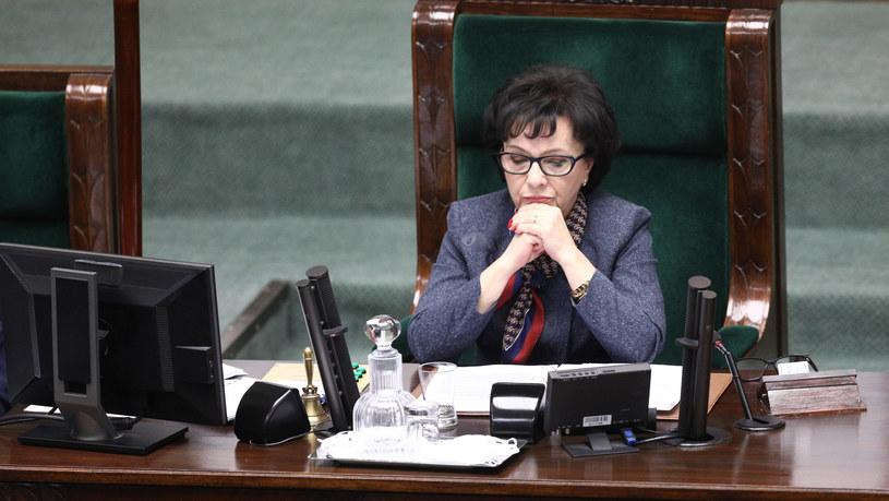 Elżbieta Witek /Fot Tomasz Jastrzebowski /Reporter