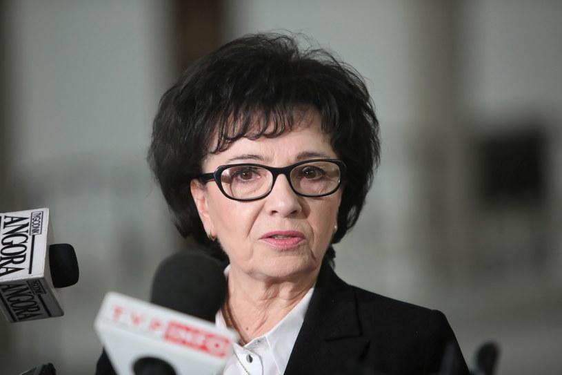 Elżbieta Witek /Wojciech Olkuśnik /PAP