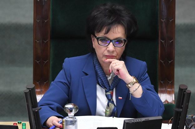 Elżbieta Witek / Radek Pietruszka   /PAP