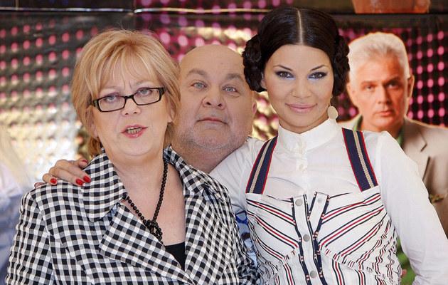 Elżbieta Zapendowska i Edyta Górniak, fot.Grąbczewski  /AKPA