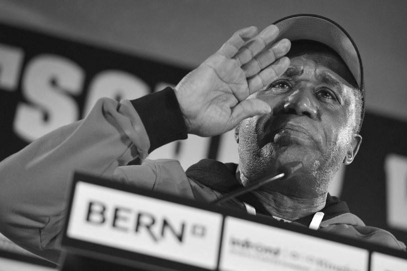 Emanuel Steward zmarł 25 października 2012 roku /AFP