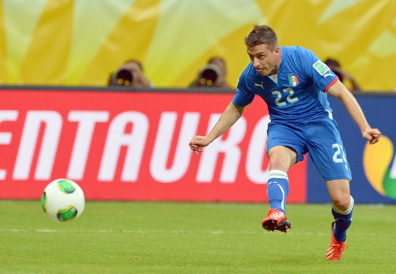 Emanuele Giaccherini, piłkarz reprezentacji Włoch i Sunderlandu /AFP