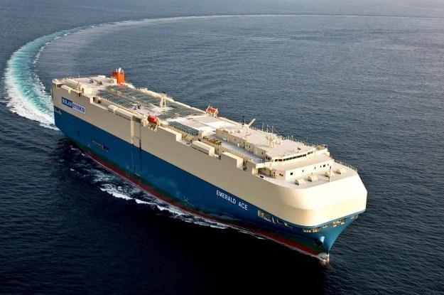 """Emerald Ace to pierwszy """"zielony"""" statek transportowy /materiały prasowe"""