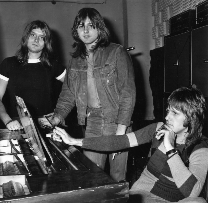 Emerson, Lake & Palmer w 1971 r.: od lewej Carl Palmer, Greg Lake i Keith Emerson /fot. Norman Quicke/Express /Getty Images