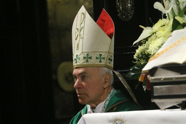 Emerytowany biskup Diecezji Karaganda w Kazachstanie, abp Jan Paweł Lenga /Waldemar Deska /PAP
