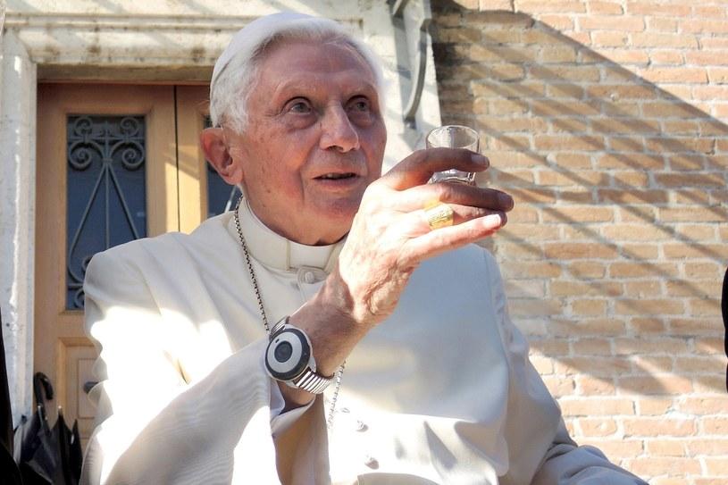 Emerytowany papież Benedykt XVI świętujący swoje 90. urodziny. /AKM Images /Agencja FORUM