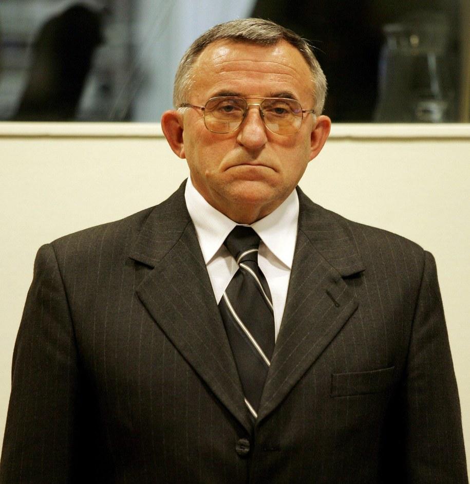Emerytowany serbski generał Vladimir Lazarević /BAS CZERWINSKI/POOL /PAP/EPA