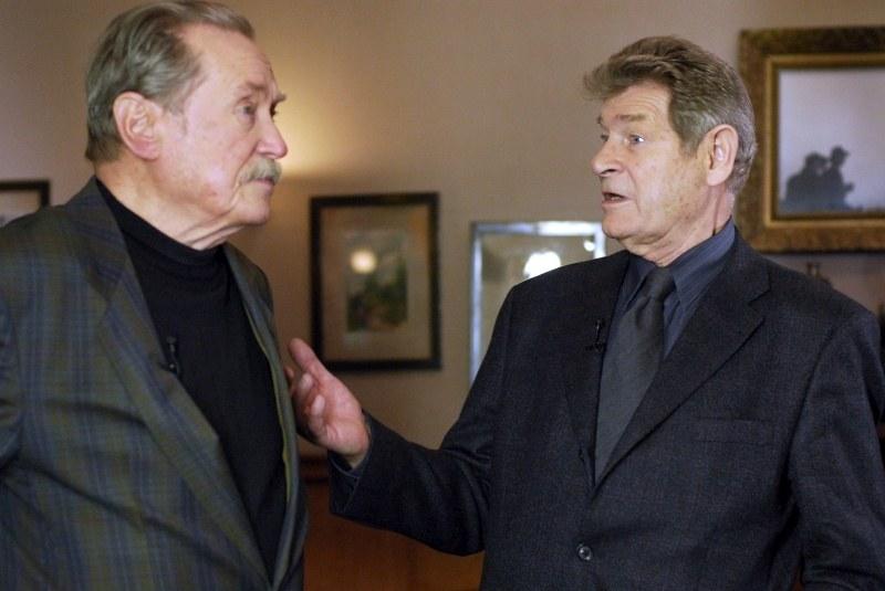 Emil Karewicz i Stanisław Mikulski /Agencja W. Impact