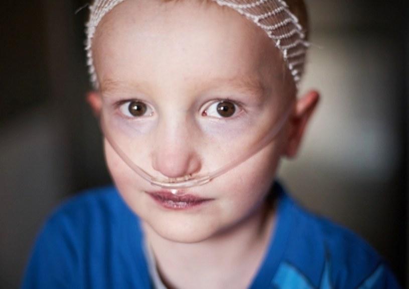 Emil Koryczan potrzebuje pieniędzy na ratująca życie operację /źródło: siepomaga.pl /
