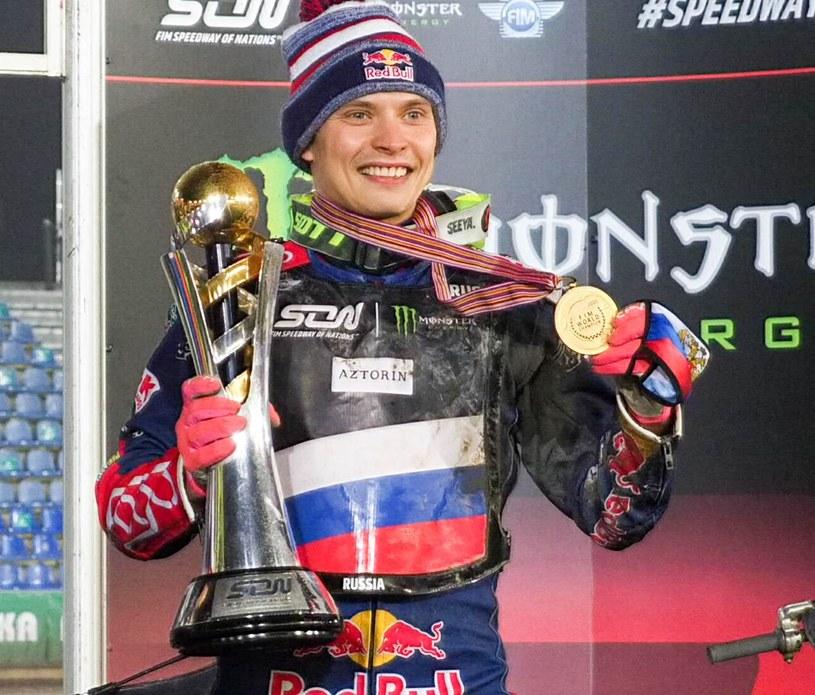 Emil Sajfutdinow w finale Speedway of Nations /Wojciech Szubartowski /Newspix