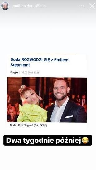 Emil Stępień https://www.instagram.com/emil.haidar/ /Instagram /Instagram