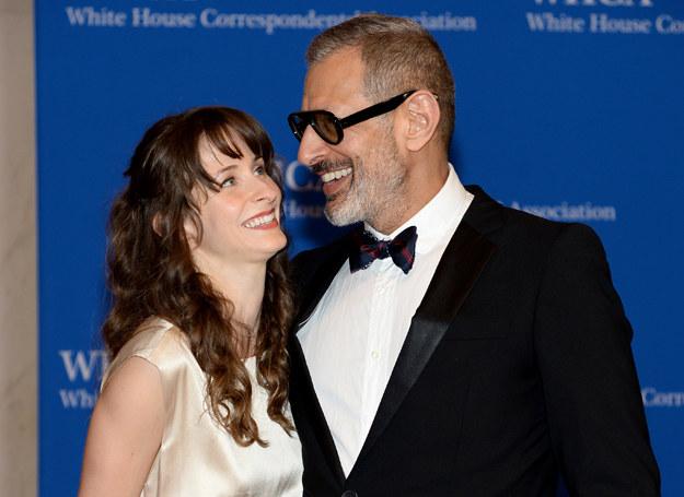 Emili Livingstone i Jeff Goldblum /Getty Images