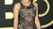 Emilia Clarke w prześwitującej sukni na gali Primetime Emmy Awards