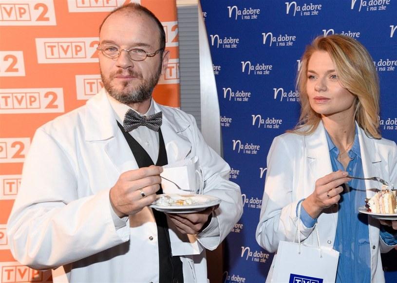 Emilia Komarnicka i Redbad Klynstra /Agencja W. Impact