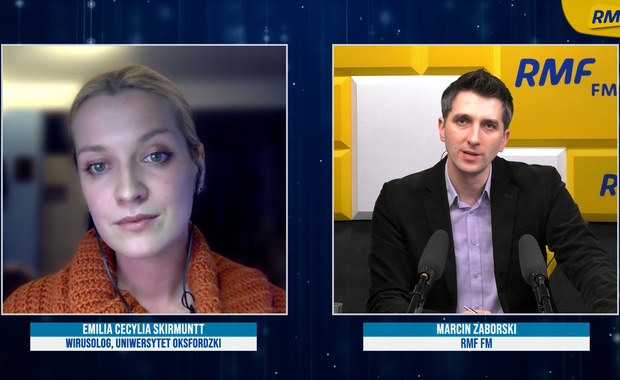 Emilia Skirmuntt o nowej odmianie koronawirusa: Zmiany w wirusie nie powinny zagrozić skuteczności szczepionek