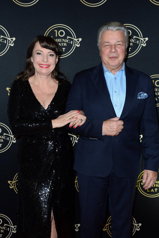 Emilian Kamiński od lat jest mężem Justyny Sieńczyłło /Tricolors /East News