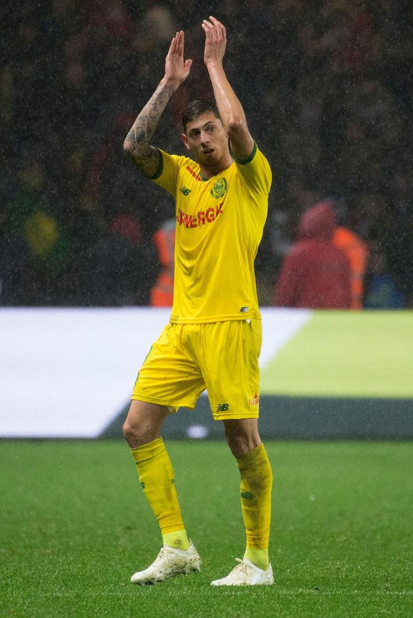 Emiliano Sala niedawno pożegnał się z FC Nantes /AFP