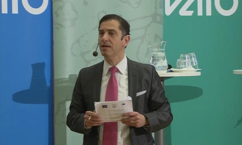 Emilio Garcia odpowiada w UEFA za przestrzeganie dyscypliny i prawości. /INTERIA.PL