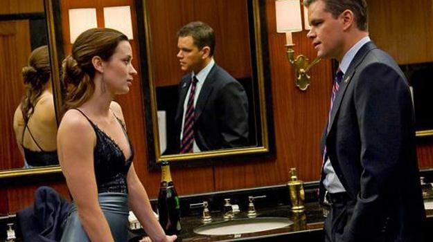 """Emily Blunt i Matt Damon w filmie """"Władcy umysłów"""" /materiały dystrybutora"""