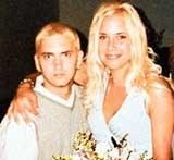 Eminem i Kim Mathers /