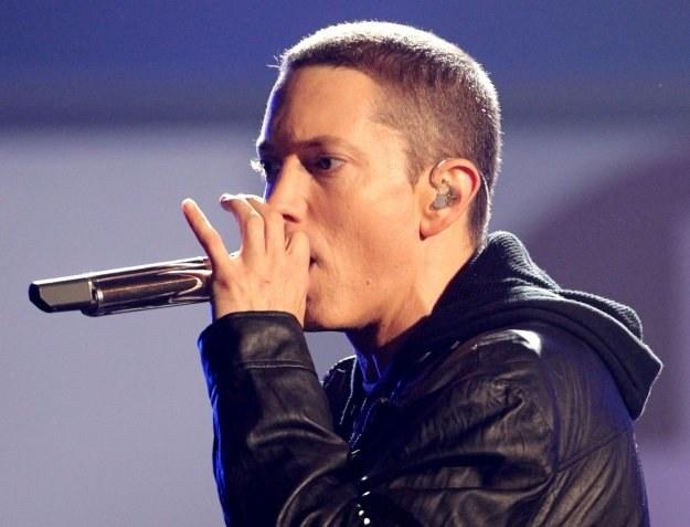 """Eminem: """"Robię po prostu muzykę"""" fot. Frederick M. Brown /Getty Images/Flash Press Media"""