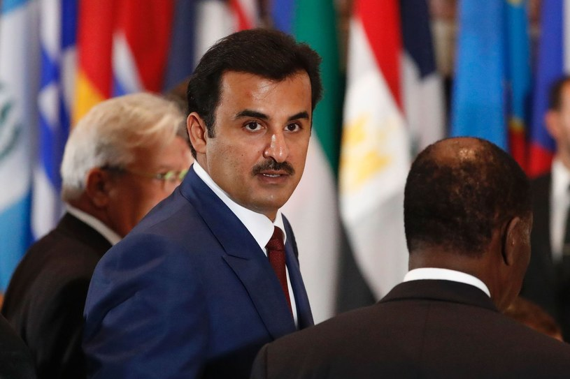 Emir Kataru Tamim bin Hamad al-Thani /AFP