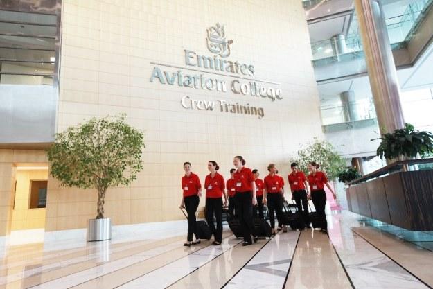 Emirates Aviation College w Dubaju /materiały prasowe