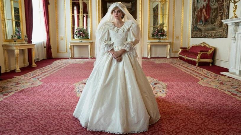 """Emma Corrin jako księżna Diana w """"The Crown"""" /Netflix /materiały prasowe"""
