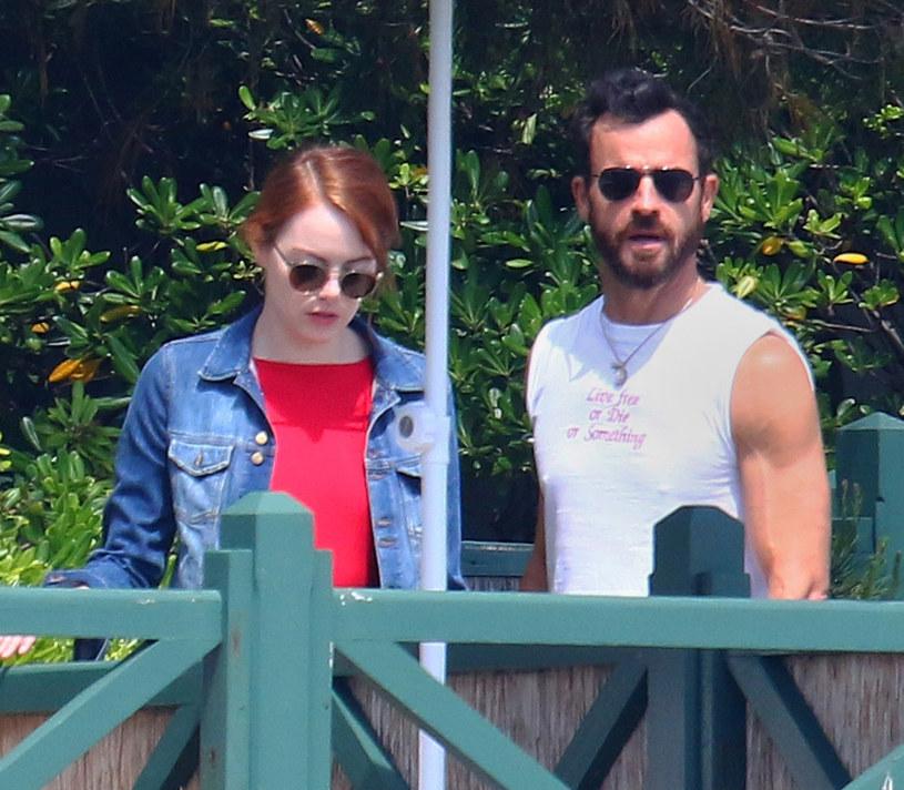 Emma Stone i Justin Theroux /East News
