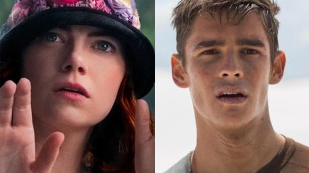 """Emma Stone (""""Magia w blasku księżyca"""") i Brenton Thwaites (""""Dawca pamięci"""") zapraszają do kin /materiały prasowe"""