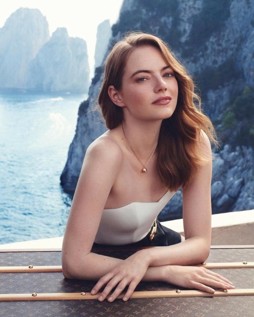 Emma Stone na ogół nie mówi publicznie o swoim życiu prywatnym /Louis Vuitton / BEEM /East News