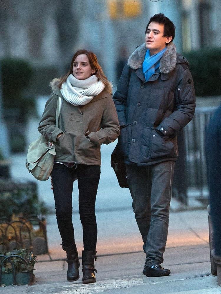 Emma Watson i Will Adamowicz /- /East News