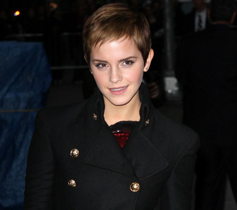 Emma Watson jest wielką fanką pixie cut /Richie Buxo / Splash News /East News