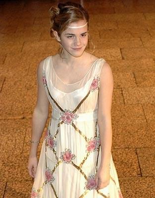 Emma Watson na premierze filmu w Londynie /AFP