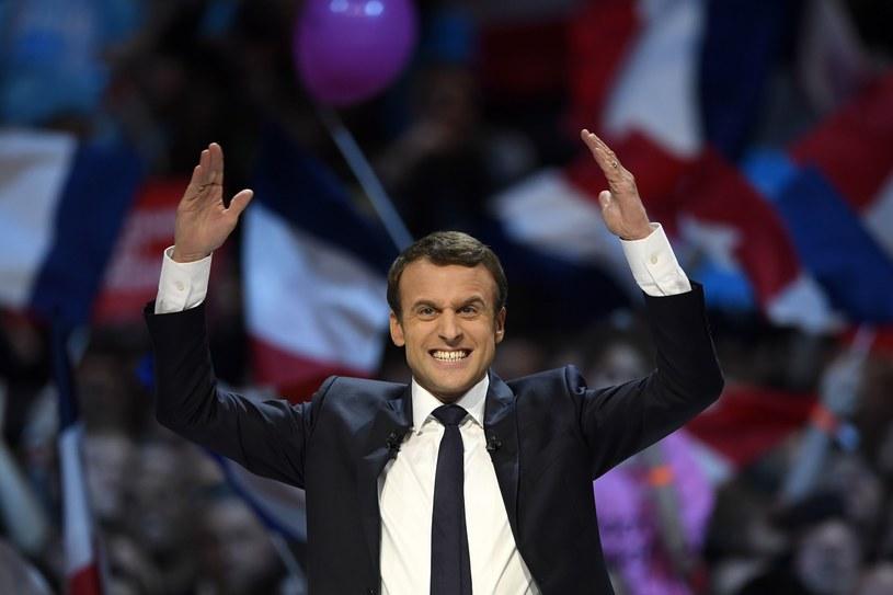 Emmanel Macron /AFP