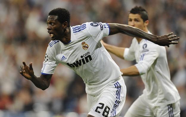 Emmanuel Adebayor został bohaterem meczu Real - Tottenham /AFP