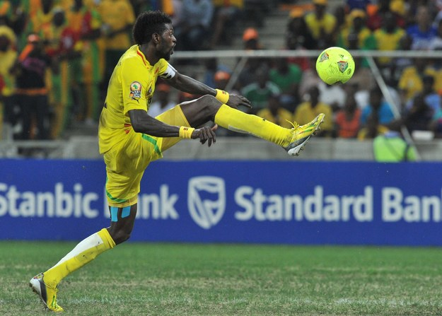 Emmanuel Adebayor /AFP