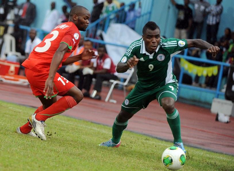 Emmanuel Emenike, piłkarz reprezentacji Nigerii /AFP