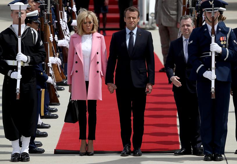 Emmanuel Macron i Brigitte Macron /Getty Images