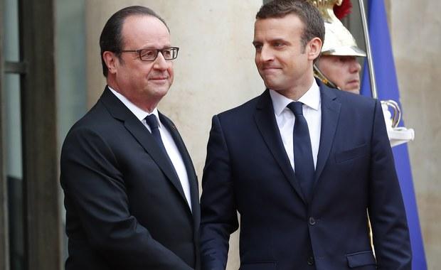 Emmanuel Macron obejmuje władzę w Pałacu Elizejskim