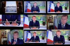 Emmanuel Macron: Odnieśliśmy zwycięstwo nad koronawirusem