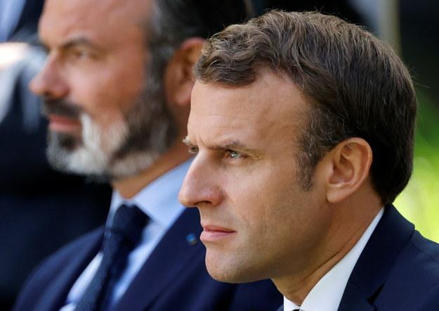 Emmanuel Macron prezydent Francji /CHRISTIAN HARTMANN / POOL /PAP/EPA